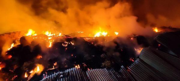 Safranbolu'da samanlık ve ahır alev alev yandı - Sayfa 2