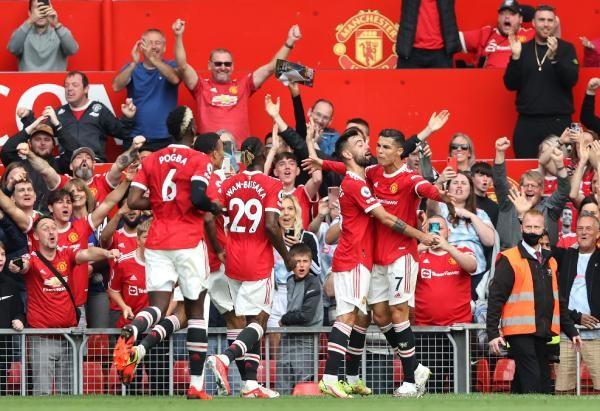 Ronaldo 2 golle döndü, Manchester United kazandı - Sayfa 2