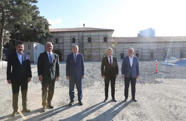 Cumhurbaşkanı Erdoğan Rami Kışlası'nı ziyaret etti - Sayfa 4