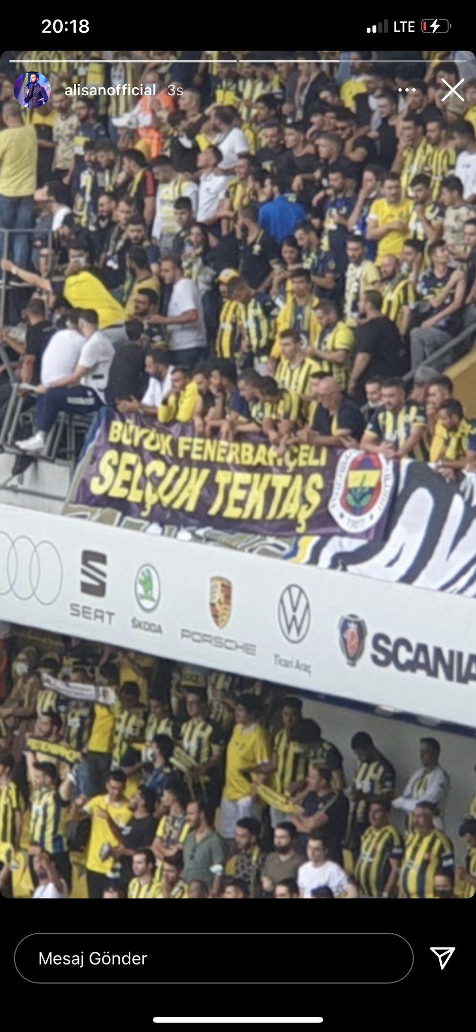 Fenerbahçe taraftarından Alişan'ı duygulandıran pankart - Sayfa 3