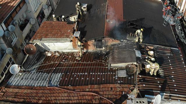 Alevler tüm çatıyı sardı! Yangında 100 güvercin telef oldu - Sayfa 2