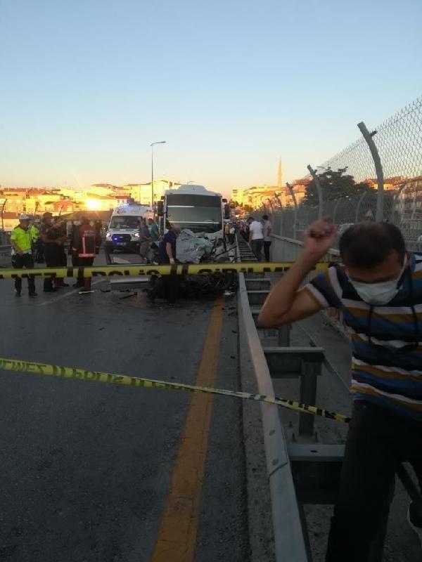 Ankara'da feci kaza: 5 kişi yaşamını yitirdi - Sayfa 1