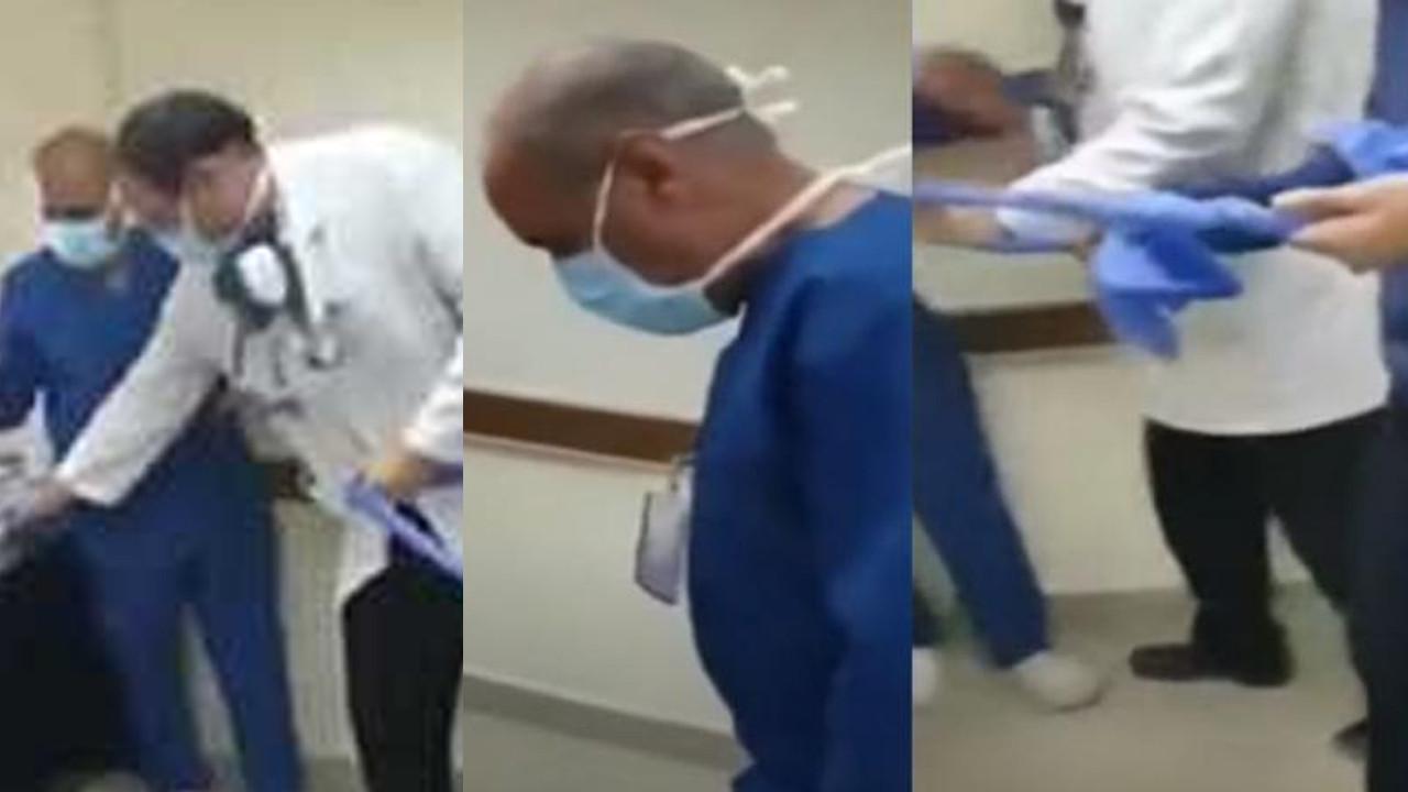 Hemşireden köpeğine secde etmesini isteyen doktor gözaltına alındı
