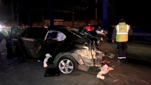 Kaza yapan sürücüye yardım için gelenlere otomobil çarptı: 1 ölü 6 yaralı - Sayfa 2