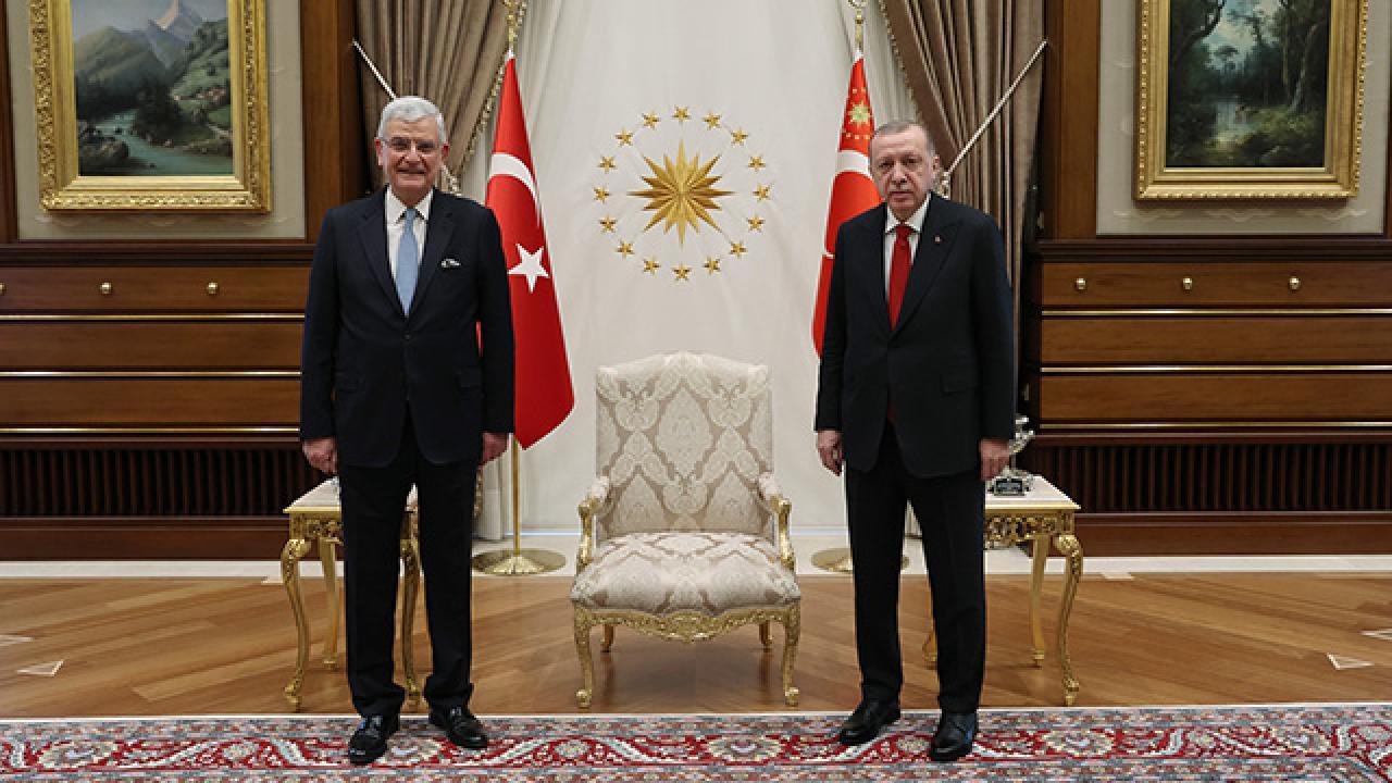 Erdoğan'dan BM Genel Kurul Başkanı Bozkır'a tebrik