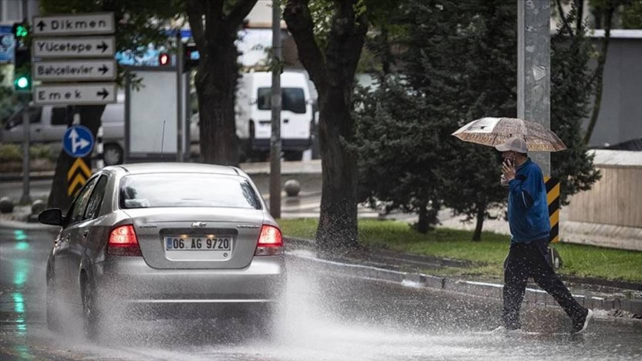 Ankara Valiliği'nden kuvvetli yağış uyarısı!