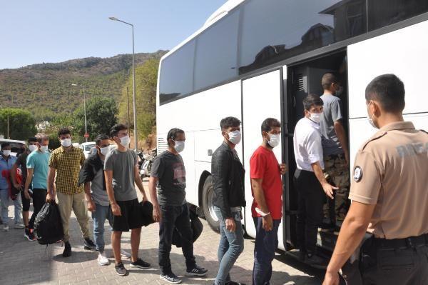 Datça açıklarında 48 kaçak göçmen yakalandı - Sayfa 1