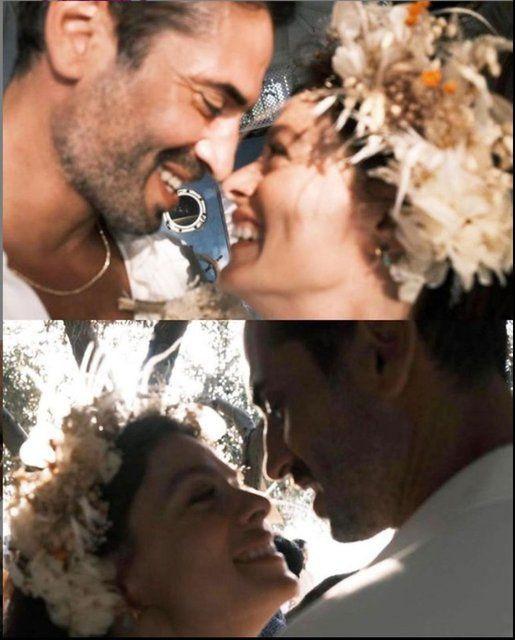 Özge Özpirinçci ile Burak Yamantürk'ün nikah fotoğrafları ortaya çıktı - Sayfa 3