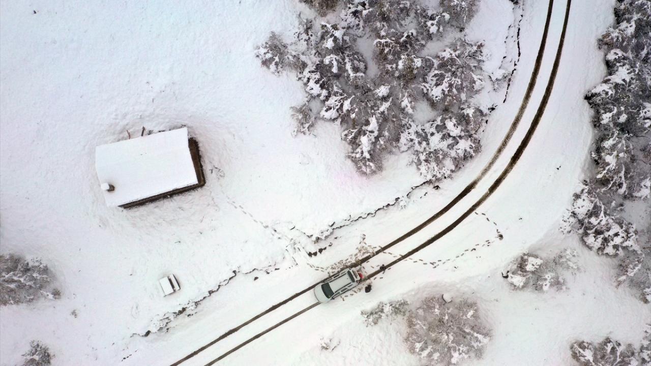Yurttan manzaralar: Kar erken geldi