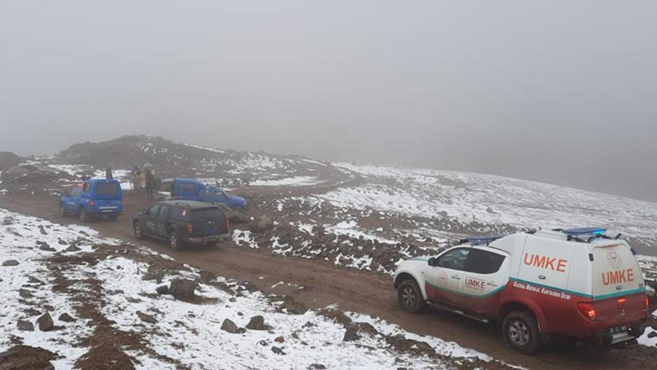 Allahuekber Dağları'nda mahsur kalan iki çoban, AFAD ve UMKE ekiplerince kurtarıldı