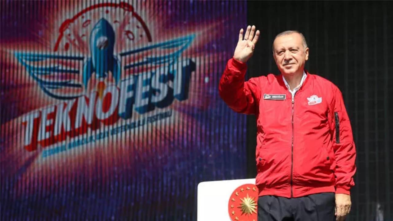 Cumhurbaşkanı Erdoğan'dan TEKNOFEST'te önemli mesaj: Dünya medyasının gündeminde 1 numara olmalıdır