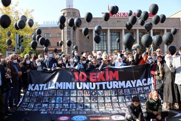 Ankara Garı saldırısında ölen 103 kişi anıldı - Sayfa 1