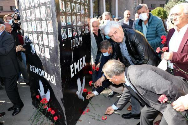 Ankara Garı saldırısında ölen 103 kişi anıldı - Sayfa 2