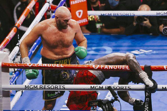 Tyson Fury, Deontay Wilder'ı nakavt etti - Sayfa 3