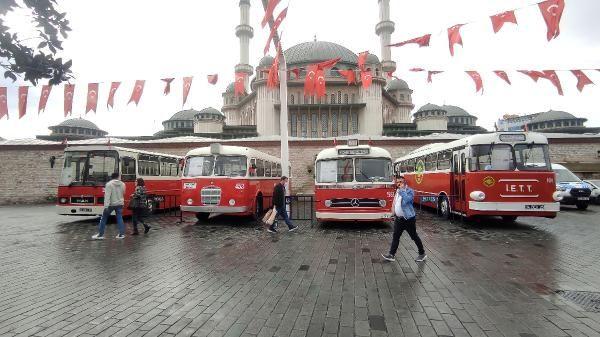 Taksim Meydanı'nda nostaljik otobüs sergisi - Sayfa 1