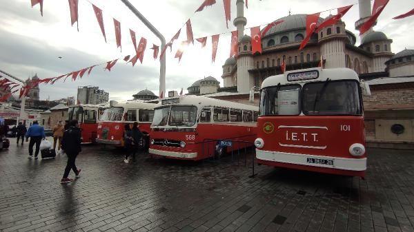 Taksim Meydanı'nda nostaljik otobüs sergisi - Sayfa 2