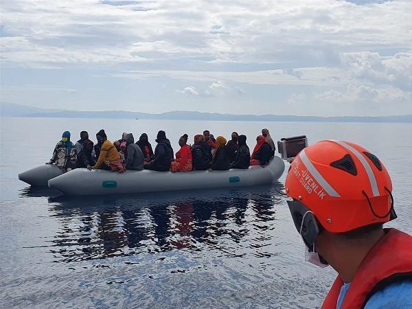 İzmir açıklarında 183 kaçak göçmen kurtarıldı - Sayfa 3