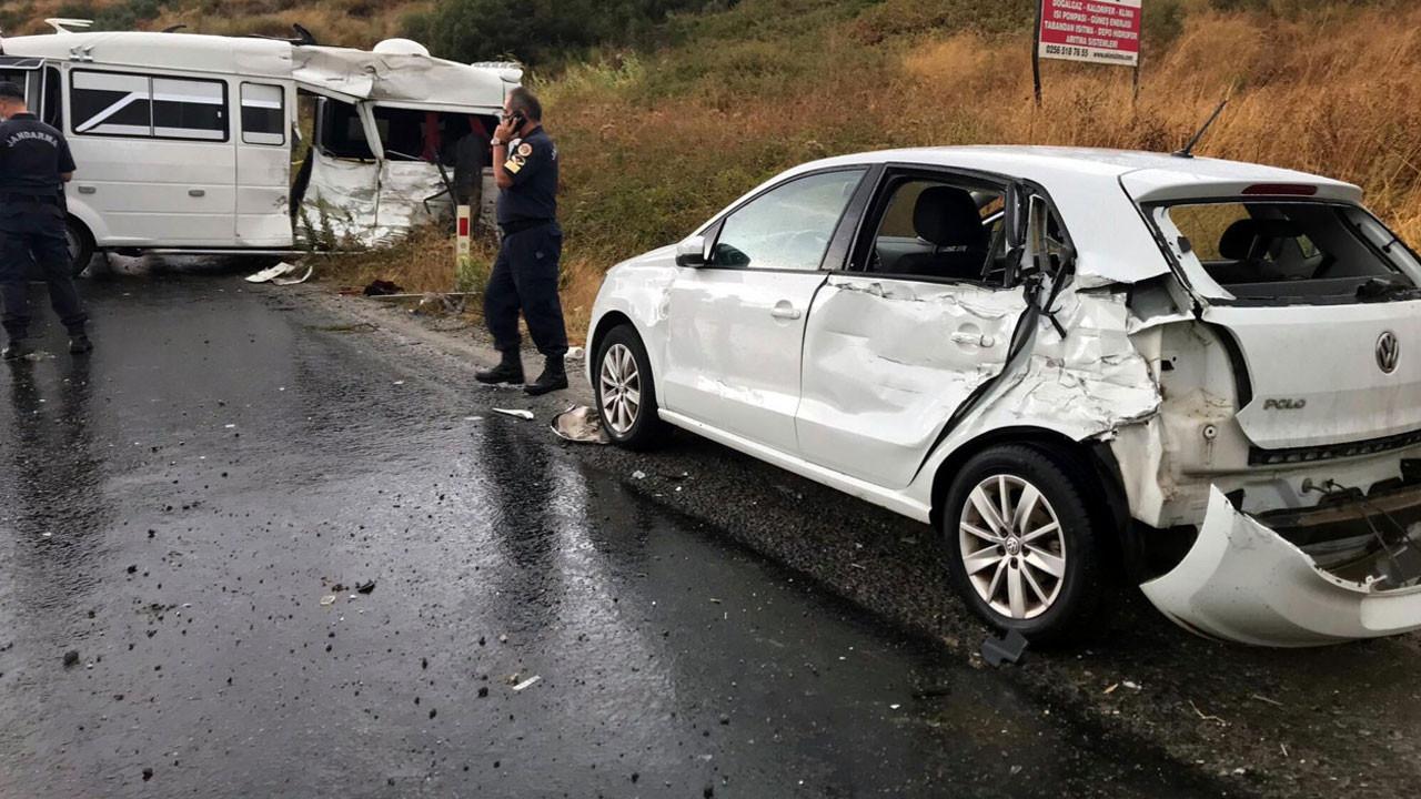 Beton mikseri kaygan yolda dehşet saçtı; 1 kişi öldü, 6 kişi yaralandı