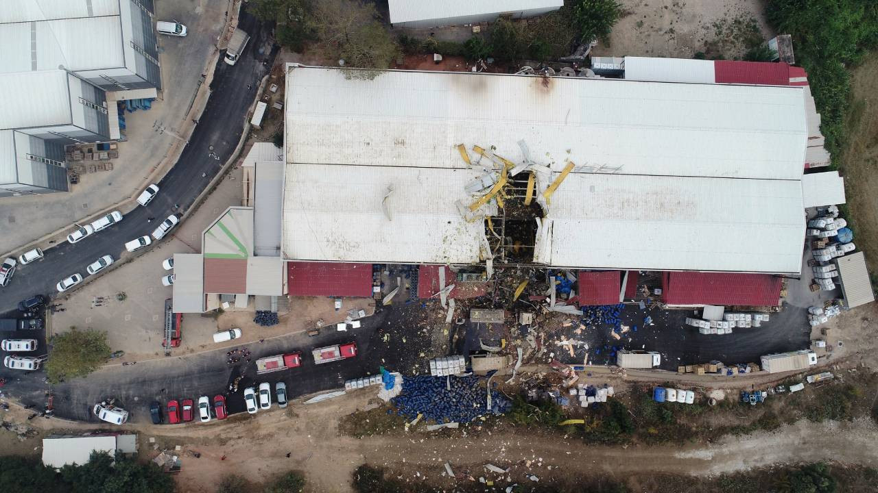 Bursa'da kimya fabrikasında patlama: Ölü ve yaralılar var
