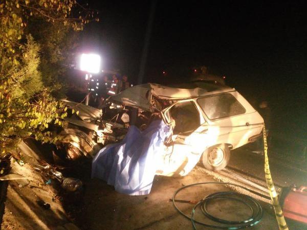 Burdur'da TIR ile çarpışan otomobil sürücüsü öldü - Sayfa 1