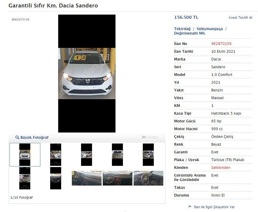 Yıllar önce aldıkları sıfır otomobilleri satıyorlar - Sayfa 2
