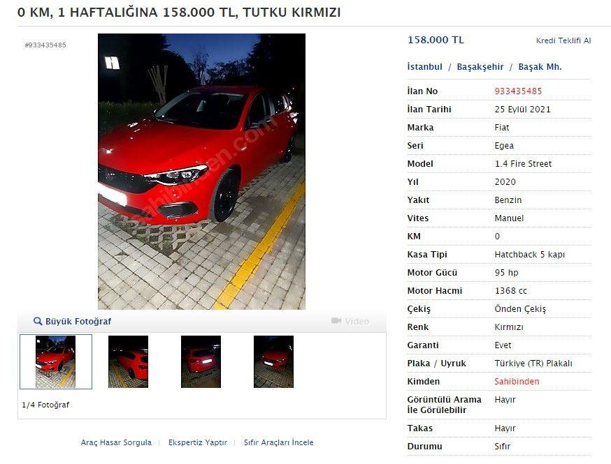 Yıllar önce aldıkları sıfır otomobilleri satıyorlar - Sayfa 3
