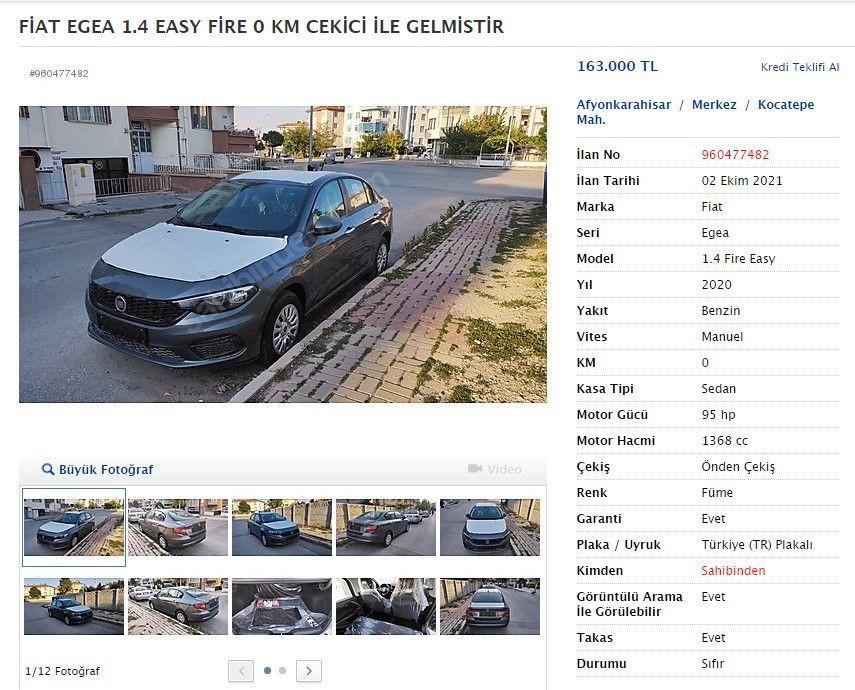 Yıllar önce aldıkları sıfır otomobilleri satıyorlar - Sayfa 4
