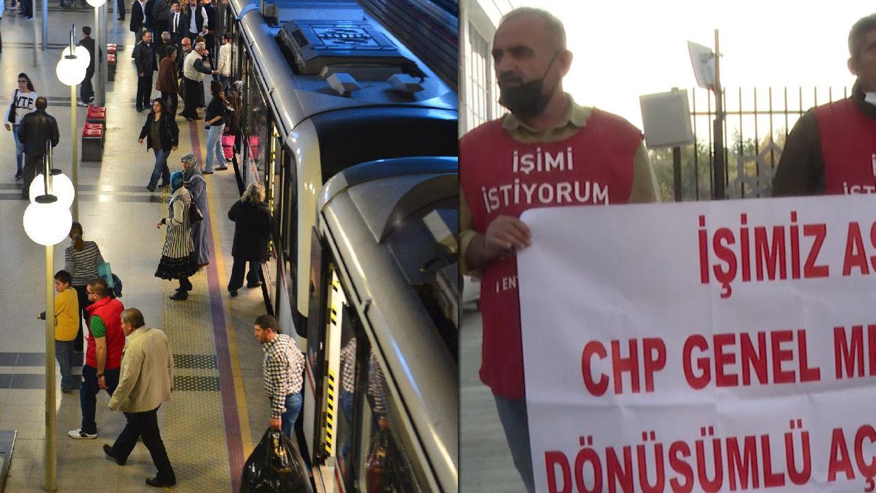 İzmir'de metro ve tramvay çalışanları greve gidiyor