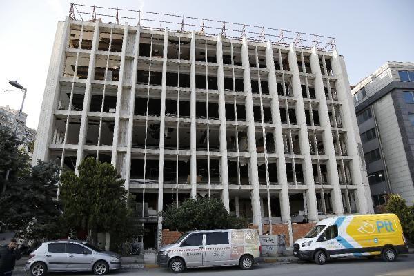 Hırsızların hedefi olan Reza Zarrab'ın eski holding binasına duvarlı önlem - Sayfa 1