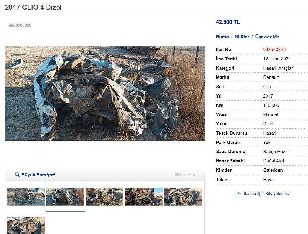 Demir ve tekerlek yığınına 42 bin liralık ilan - Sayfa 3