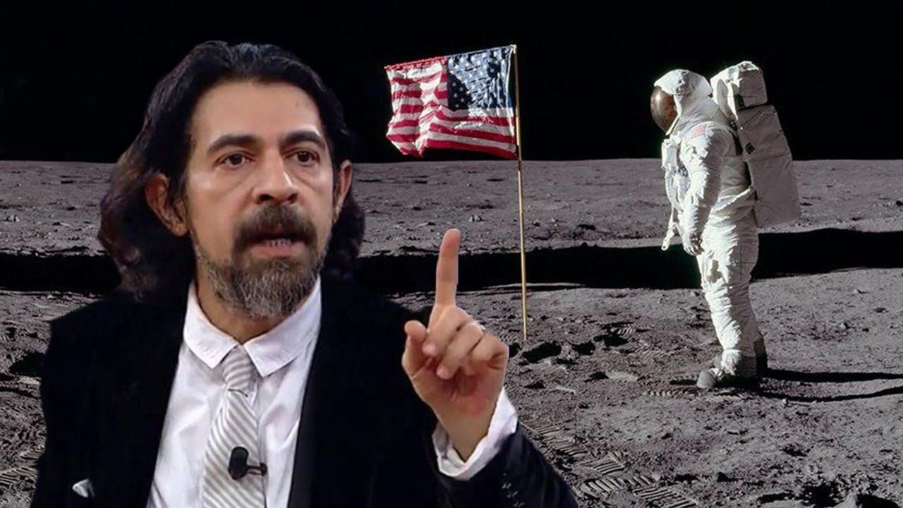 Okan Bayülgen ABD'nin Ay'a gitmediğini iddia etti