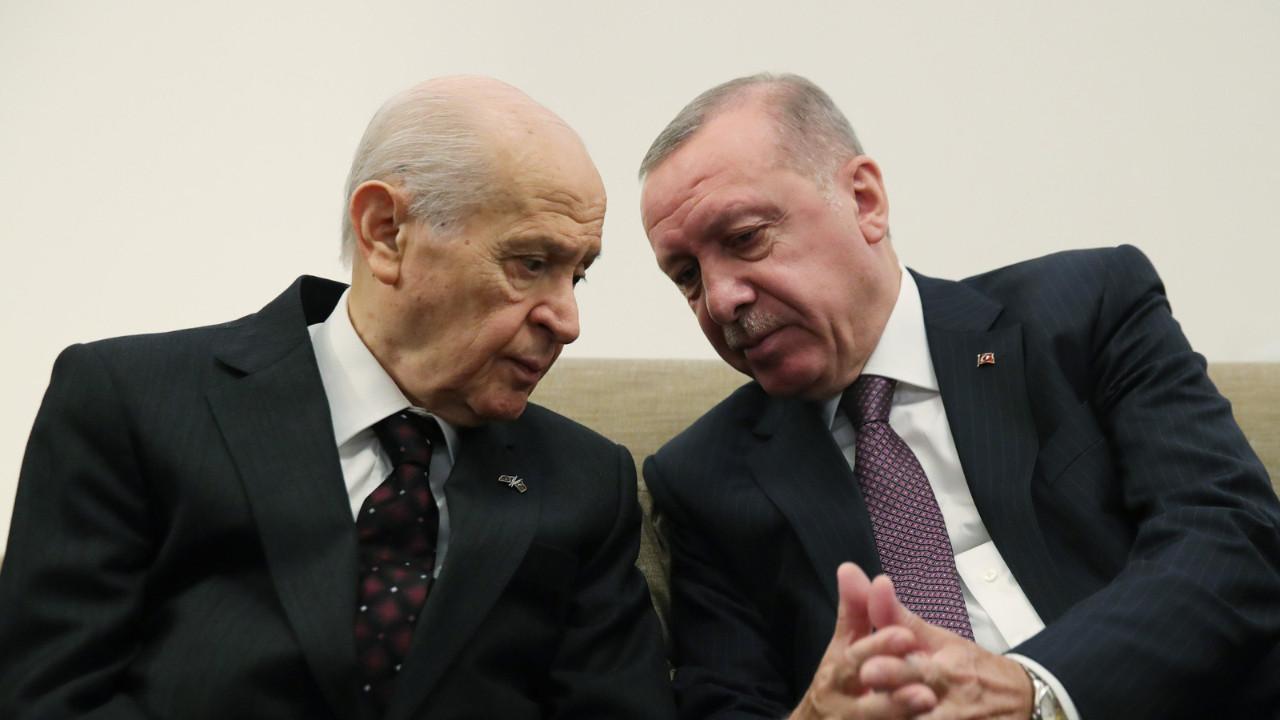 Beştepe'de Erdoğan-Bahçeli görüşmesi
