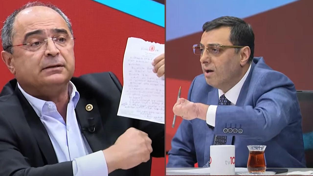 AK Parti ve CHP milletvekili canlı yayında birbirine girdi; Moderatör reklam arasına gitmek zorunda kaldı
