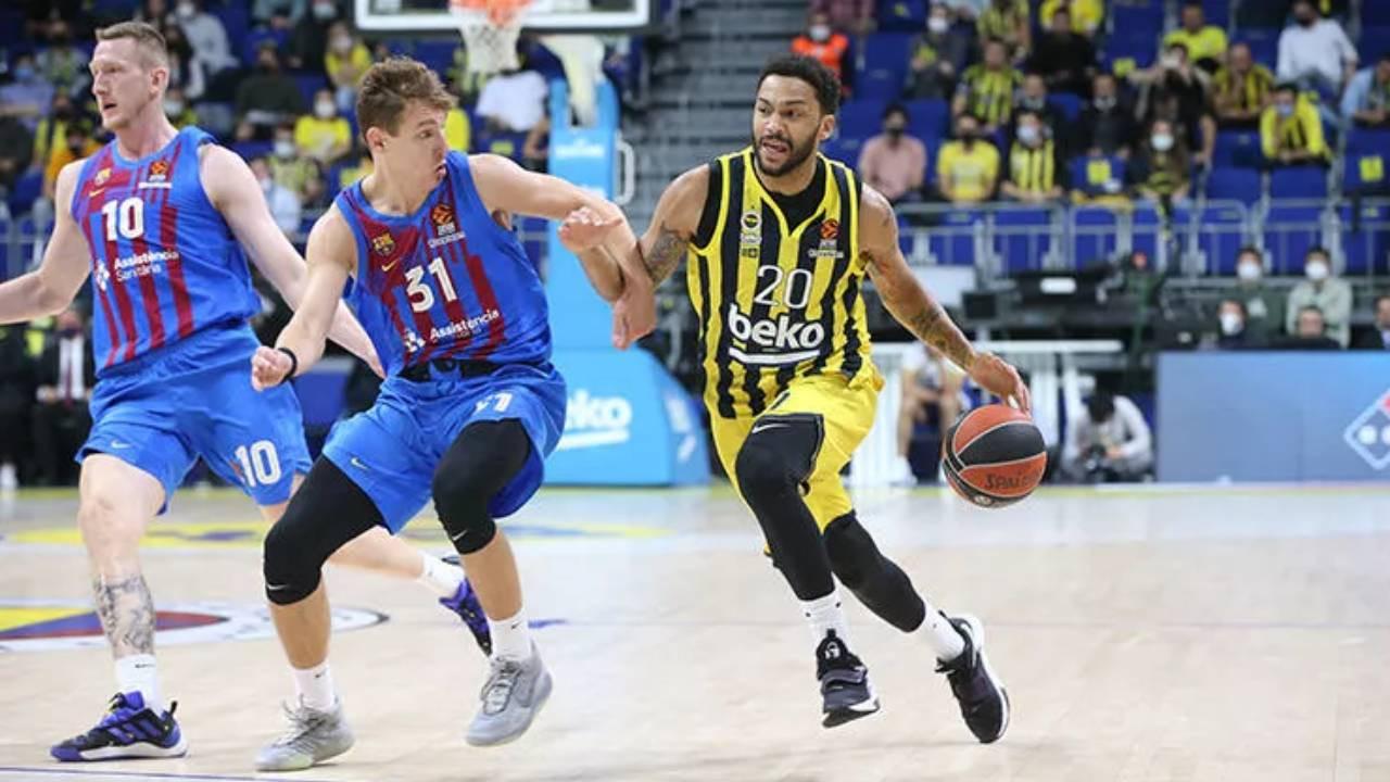 Fenerbahçe Beko sahasında Barcelona'ya son saniye basketiyle kaybetti!