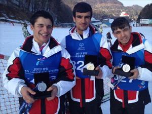 2013 Özel Olimpiyatlar Kış Oyunları'nda Kore'de Madalya Yağmuru Başladı