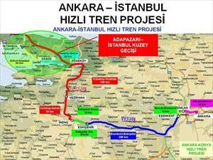 Pendik-Ankara arası 82 dakika olacak