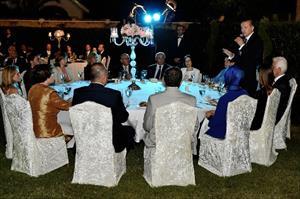 Erdoğan onuruna yemek