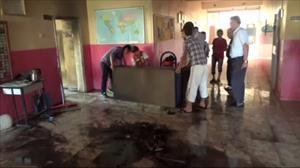Siirtte iki okul molotofla yakıldı
