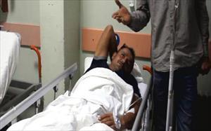 Jandarmaya ateş açıldı: 1 işçi yaralandı