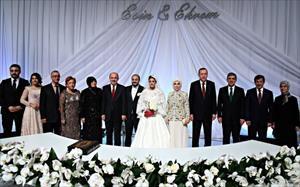 Devlet erkanı bu düğünde buluştu