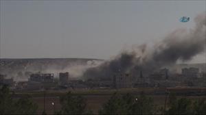 Kobani'ye yoğun saldırı