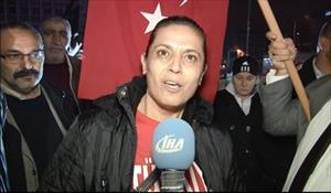 Başkent'te şehit protestosu