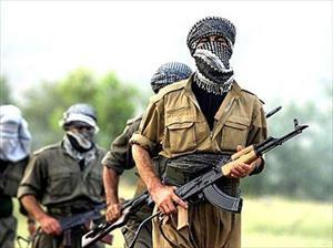 PKK'lılar köylüleri tehdit etti