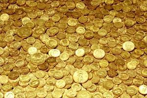 Altın çakıldı