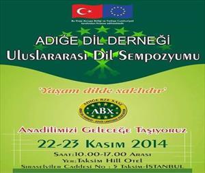 İstanbul'da Uluslararası Çerkezce Sempozyumu