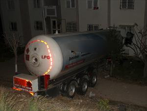 Deprem değil tanker paniği ...