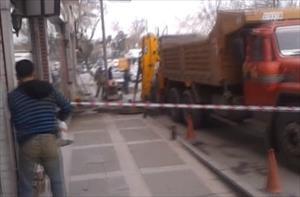 Cumhurbaşkanı Erdoğan'ın sokağında panik