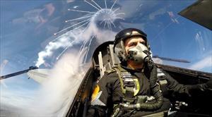Hava Kuvvetleri Komutanı bizzat kendi uçarak denetledi