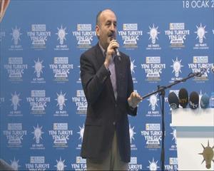Bakan Müezzinoğlu: Biz millete inandık onlar da bize güvendi