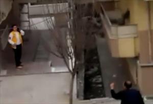 İstanbul'daki dehşet anları kamerada